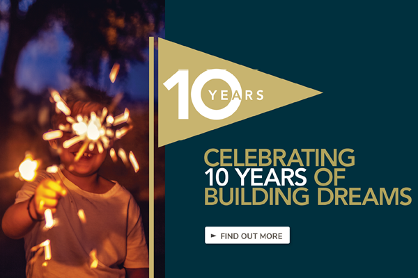 DRHomes celebrates 10 years of building dream homes