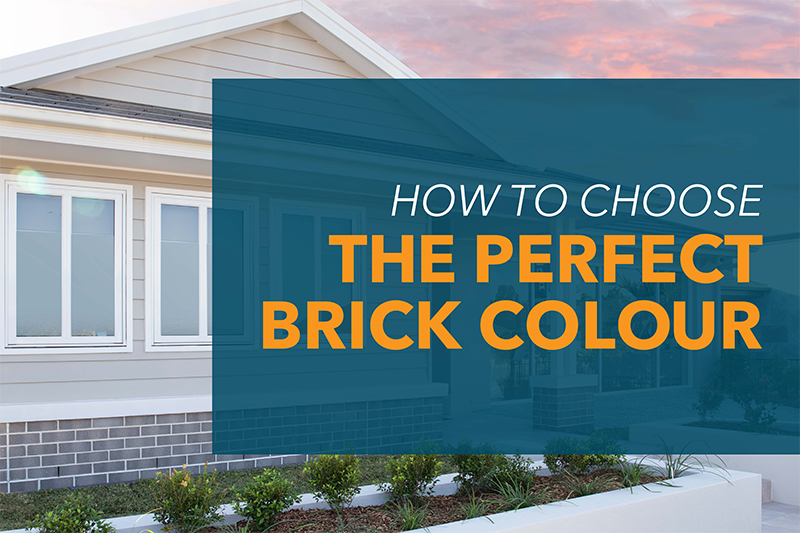 How to choose the perfect brick colour